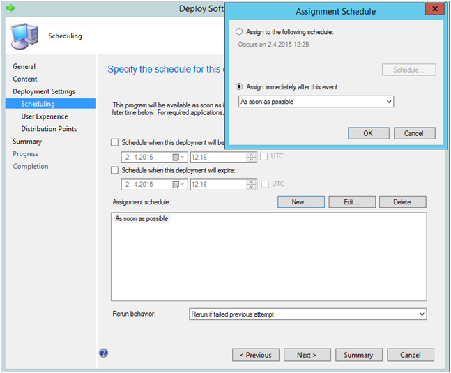 Deploy Google Chrome Package with SCCM 2012