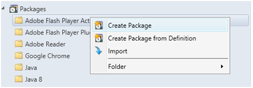 Create package