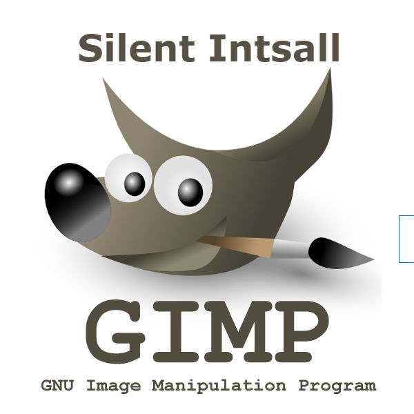 Gimp silent install uninstall msi and exe version – Command Line