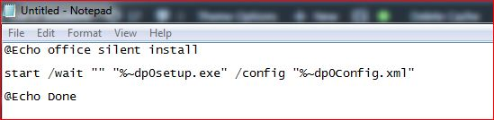 Office 2013 silent install command line