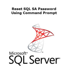 Reset SQL SA Password
