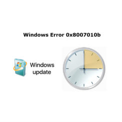 Windows Error 0x8007010b