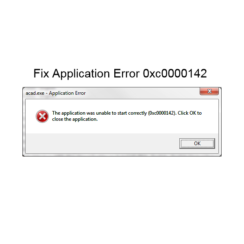 The Application Was Unable To Start Correctly 0xc0000142