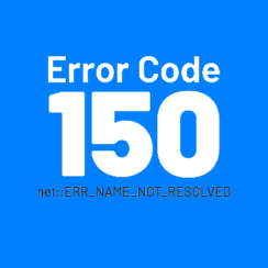 Error Code 105 Err_Name_Not_Resolved Chrom