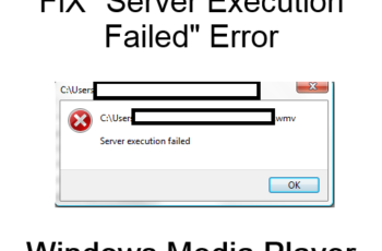 Fix Windows Media Player Server Execution Failed Error
