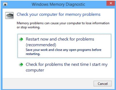 System_Service_Exception-Windows Memory Diagnostic