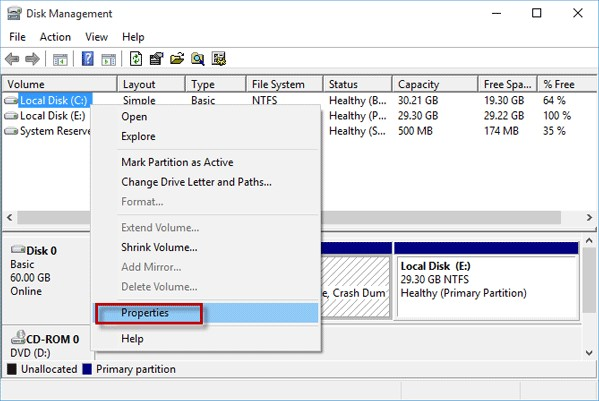 How to external hard drive Using Disk Management