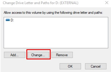 How to change hard drive letter Using Disk Management