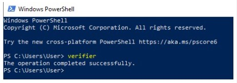 PowerShell Command Driver Verifier