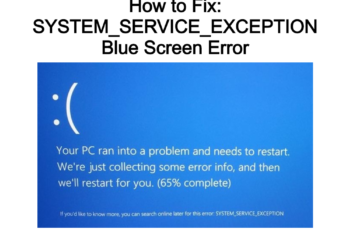 SYSTEM_SERVICE_EXCEPTION
