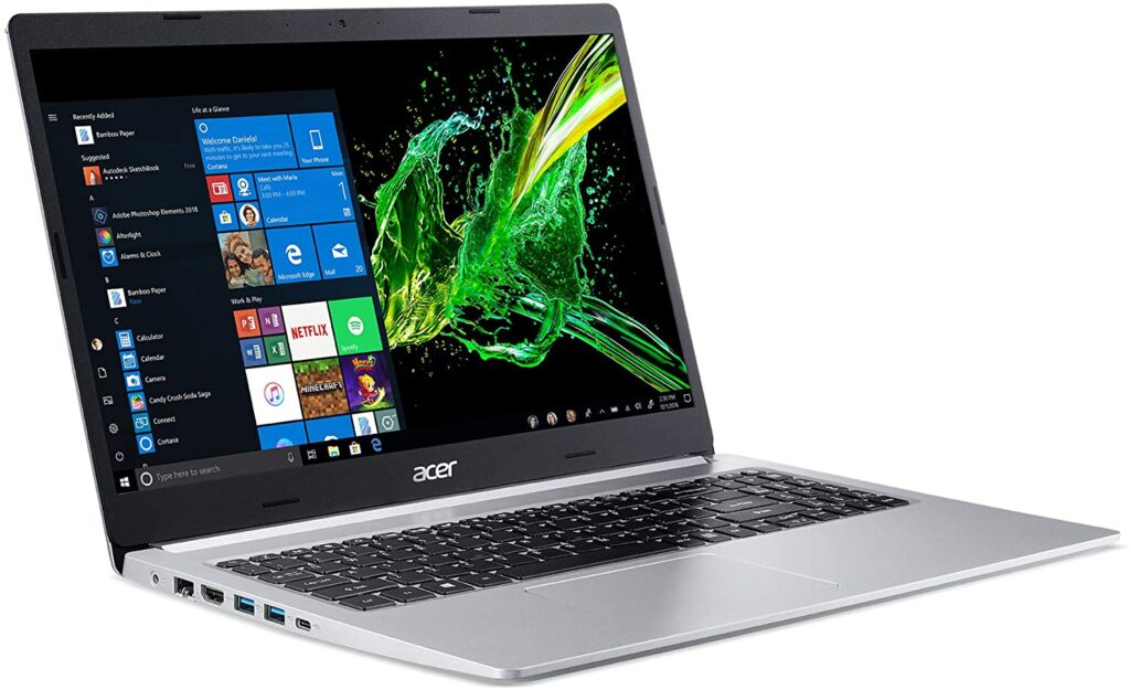 Acer Aspire 5 A515 - The best cheap laptop for recording music