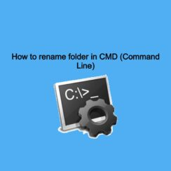 How to rename folder in CMD (Command Line)