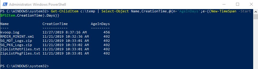 How to delete files older than using PowerShell