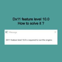 Dx11 feature level 10.0